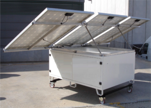 Solar powered water treatment